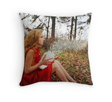 Release The Winds Of Winter Throw Pillow