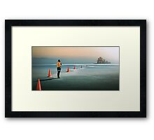 The end of the eternal recurrence Framed Print