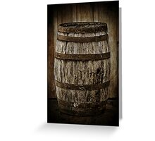 Barrel Greeting Card