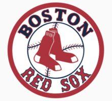 boston red sox logo Kids Tee