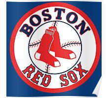 boston red sox logo Poster