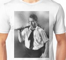 Paul Newman actor by John Springfield Unisex T-Shirt