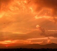 ©HCS Orange Sunset I by OmarHernandez