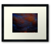 ©HCS Blue Red I Framed Print