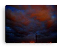 ©HCS Blue Red I Canvas Print