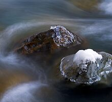Chilliwack River Abstract by Michael Russell
