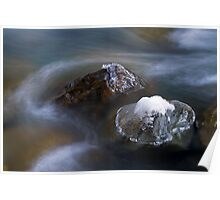Chilliwack River Abstract Poster