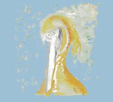 Amber Heron by Bernadette Crotty