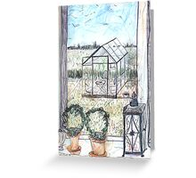 Naes Glasshouse Greeting Card