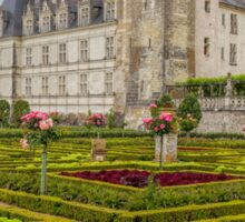Chateau de Villandry, Loire Valley, France Sticker
