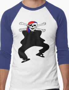 ★ټ Pirate Skull Style Hilarious Clothing & Stickersټ★ Men's Baseball ¾ T-Shirt