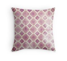 Square Rooms Throw Pillow