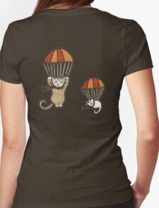 Parachuting (Tee) Womens Fitted T-Shirt