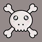 Kawaii Skull by NirPerel