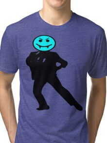 ★ټVampire Smiley Style Hilarious Clothing & Stickersټ Tri-blend T-Shirt