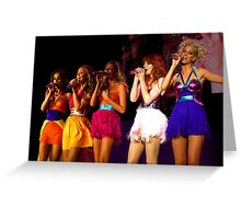 Girls aloud live in Bournemouth 2008 Greeting Card
