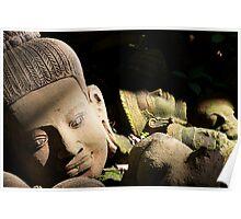 Khmer Terracotta Statue 2 Poster