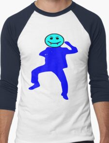 ★ټVampire Smiley Style Hilarious Clothing & Stickersټ★ Men's Baseball ¾ T-Shirt