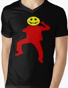 ★ټVampire Smiley Style Hilarious Clothing & Stickersټ★ Mens V-Neck T-Shirt