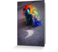 Rainbow Dash's Eclipse Greeting Card