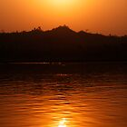 Ayeyarwady River Sunset - Burma by TravelShots