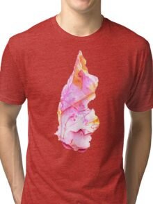 Watercolor Ruby – July Birthstone Tri-blend T-Shirt