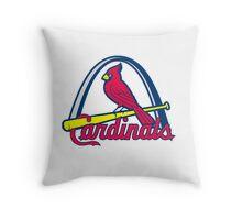 st. louis cardinals Throw Pillow