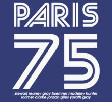 PARIS '75 40th ANNIVERSARY RE-ISSUE by WERENOTFAMOUS