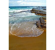 Incoming waves Photographic Print