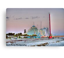 Welcome to Playland Canvas Print