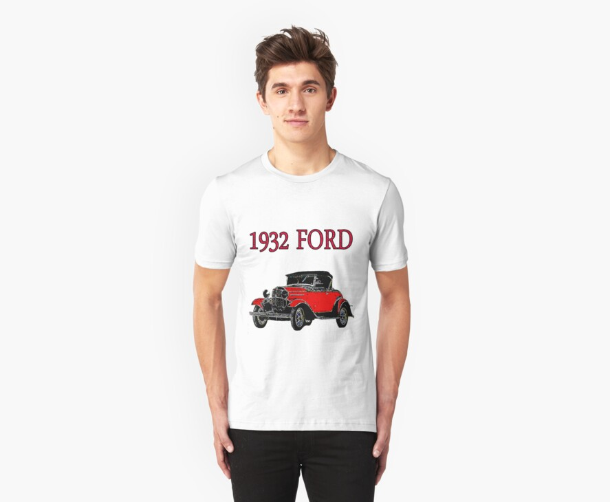 FORD FOR 1932 by Mike Pesseackey (crimsontideguy)