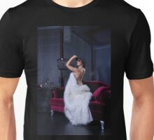 Sexy and erotic attractive girl Unisex T-Shirt