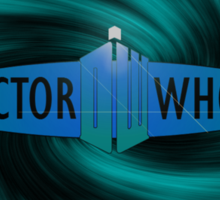 Doctor Who (Blue) Sticker