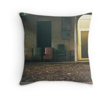 Old Chairs Throw Pillow