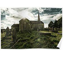 Ireland - Holy Flare Poster