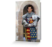 John of Gaunt Greeting Card