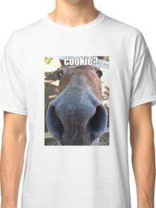 Matilda the Mule Wants Cookies! Classic T-Shirt