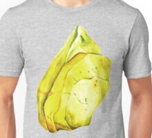 Watercolor Peridot – August Birthstone Unisex T-Shirt