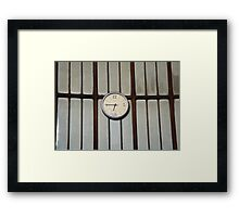 old clocks Framed Print