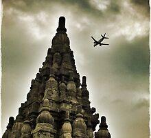 Temple Flight by Michelle Clarke