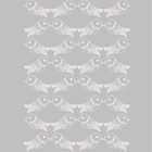 Gray bird pattern by Csöpi's Art