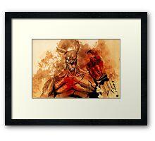 Killeroo by Simon Sherry Framed Print