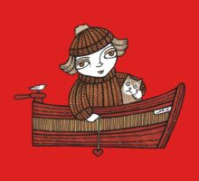 Dawn and Dinky (Tee) by Anita Inverarity
