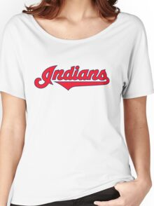 indians logo Women's Relaxed Fit T-Shirt