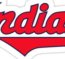 indians logo Sticker