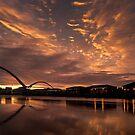 Infinity Bridge Sunrise by Dave Hudspeth