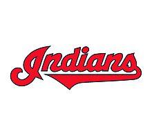 indians logo Photographic Print