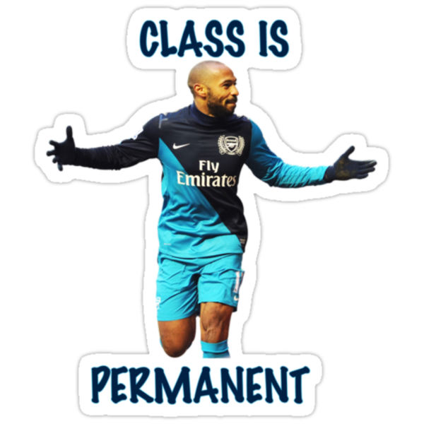 Thierry Henry Class Is Permanent by Thierry Henry14.net