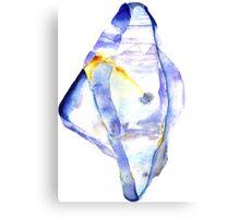 Watercolor Sapphire – September Birthstone Canvas Print