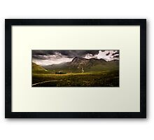 From Devils Staircase to Buachaille Etive Mor Framed Print